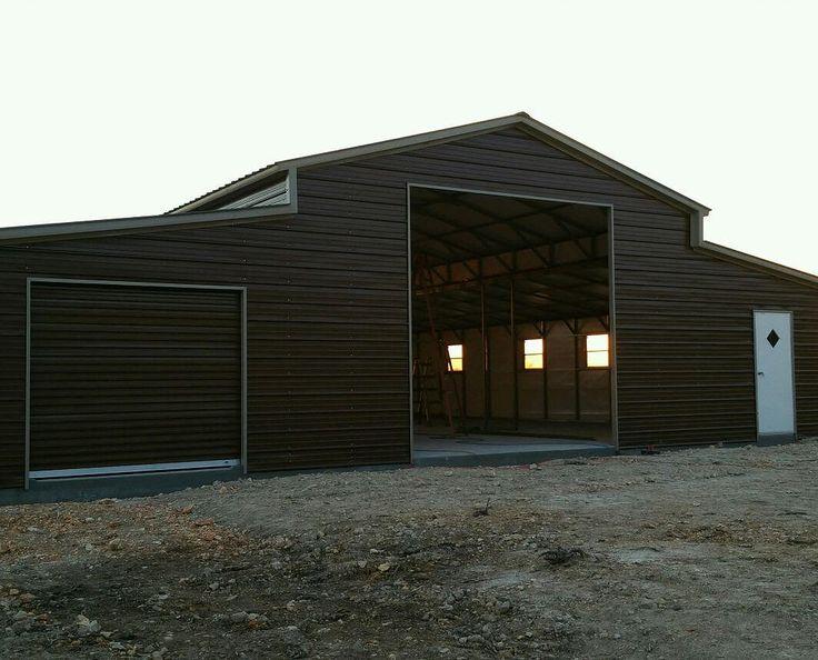 16 48'Wx 51'Lx 12' & 8'H Barn Vertical Roof Unique