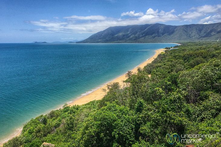 Rex Lookout, Wangetti Beach - Queensland Coast Between Port Douglas and Cairns