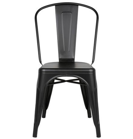 Replica Xavier Pauchard Tolix Chair (Powder Coated) - Matt Blatt