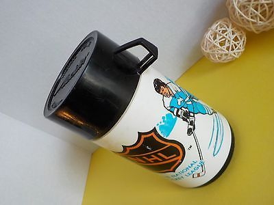Vintage Aladdin Thermal Bottle Thermos Aurora Canada NHL National Hockey League