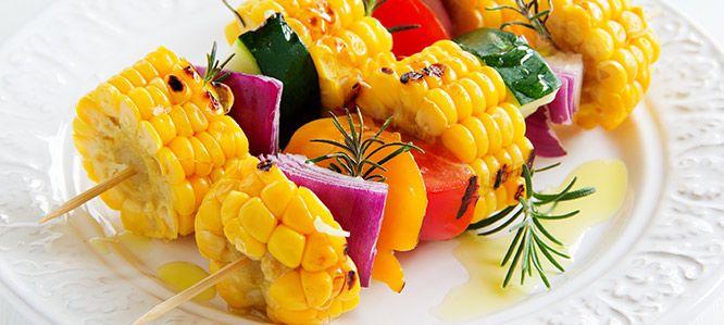 Sycące warzywne szaszłyki