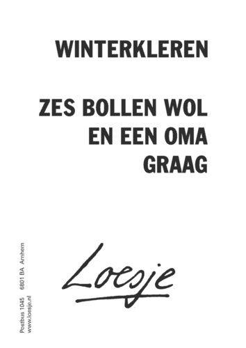 I ♥ Loesje