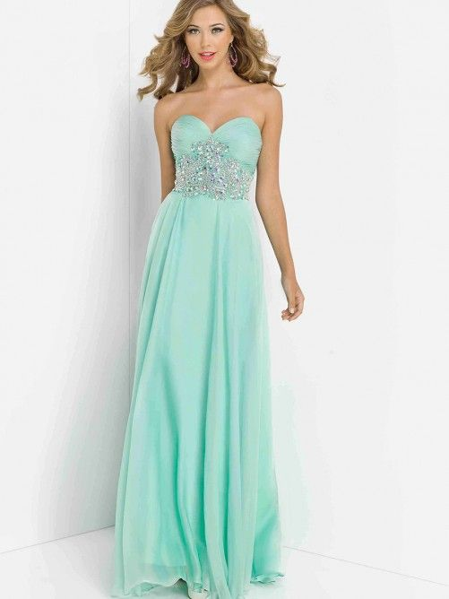 A-line/Princess Beading Sleeveless Sweetheart Chiffon Floor-length Dresses