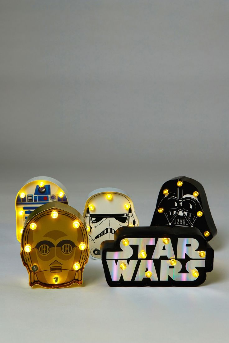 Shaped Mini Marquee Box Set, LCN STAR WARS MULTI $55.99