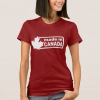 Made In Canada - Red Women's Shirt