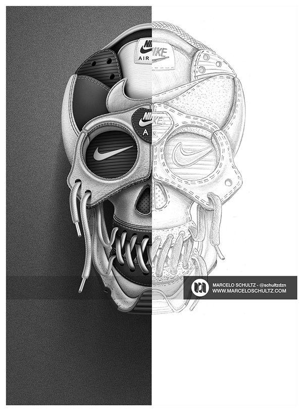 Skull: talento brasileiro em design para Nike -