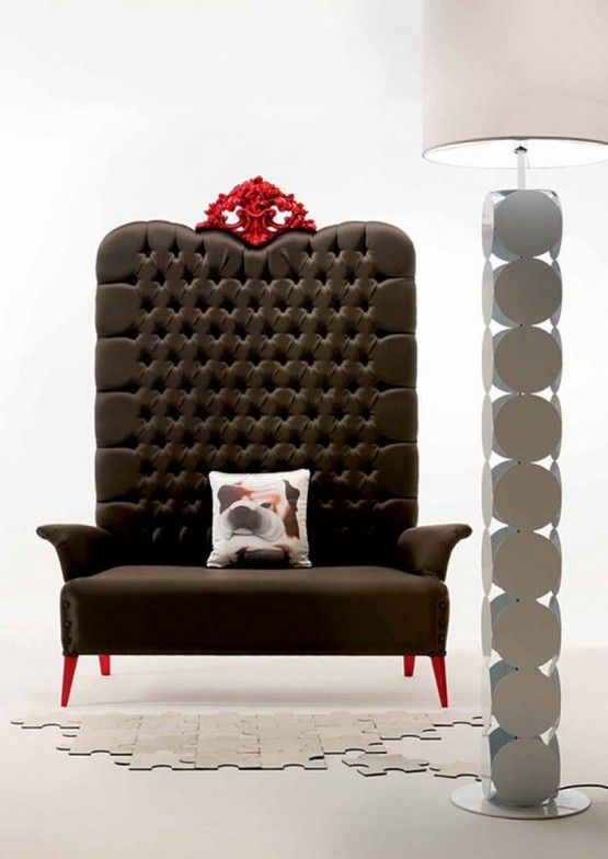 Marvelous Majestic Modern Armchair With Elegant Looks, Megatizzi Buttoned By Creazioni Photo Gallery