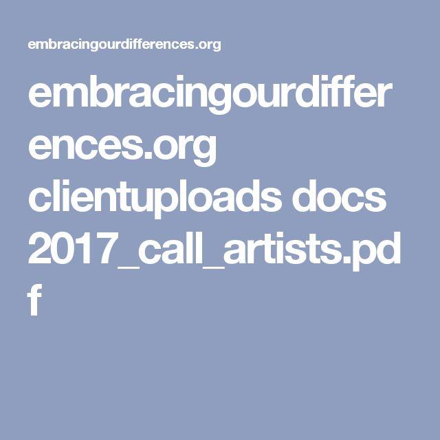 embracingourdifferences.org clientuploads docs 2017_call_artists.pdf