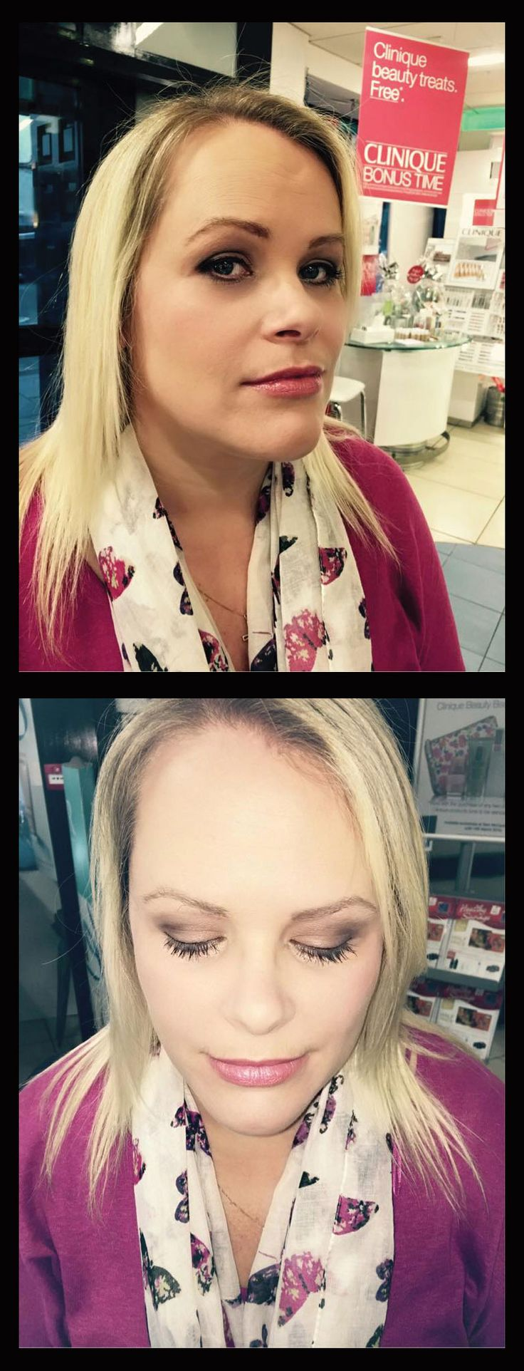 Wedding makeup trial by Aishling (#Lancome Consultant) in our Kilkenny store.  To book, or for more info on makeovers at Sam McCauleys Kilkenny call 056 7750122. #SamMcCauleys