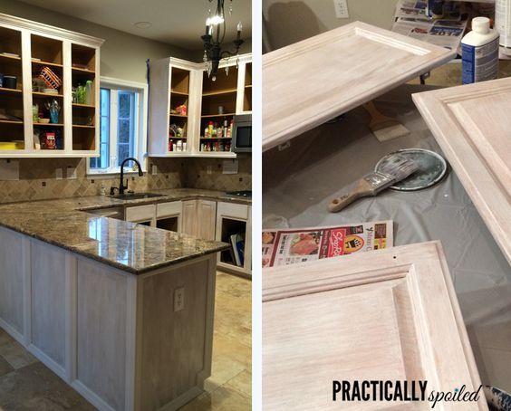 Best 25 Painted Oak Cabinets Ideas On Pinterest