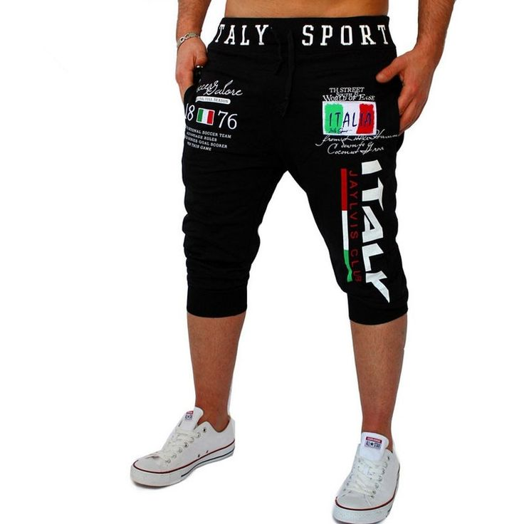 Shorts Mens Tights Compression Bermuda Short Italy Printing Design Men Homme Shorts SUWAA