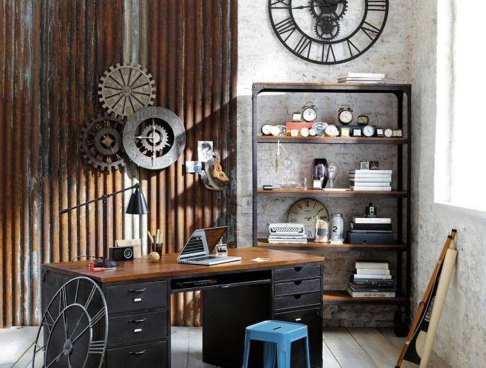 Die besten 25+ Retro wanduhr Ideen auf Pinterest Industrielle - schöne wanduhren wohnzimmer