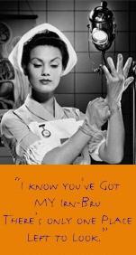 Best Irn-Bru billboard adverts: nurse