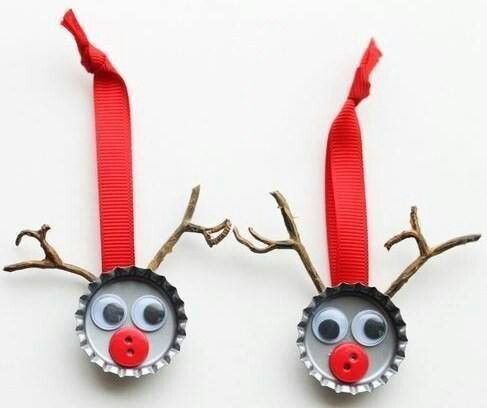 24 best Office Recycled Christmas Decorations images on Pinterest ...
