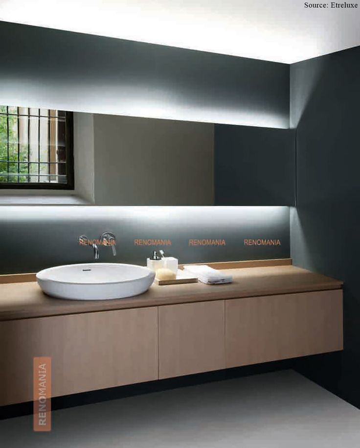 Bathroom Mirrors Lit From Behind 12 best images about glam up your bath with mirrors! on pinterest