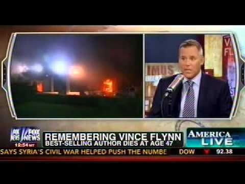 VINCE Flynn April 6, 1966 June 19, 2013) FOX News reports on the passing of Vince Flynn