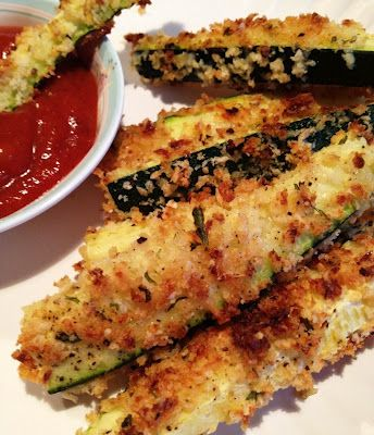 ... and Healthy | Pinterest | Zucchini Fries, Zucchini and Oven Baked