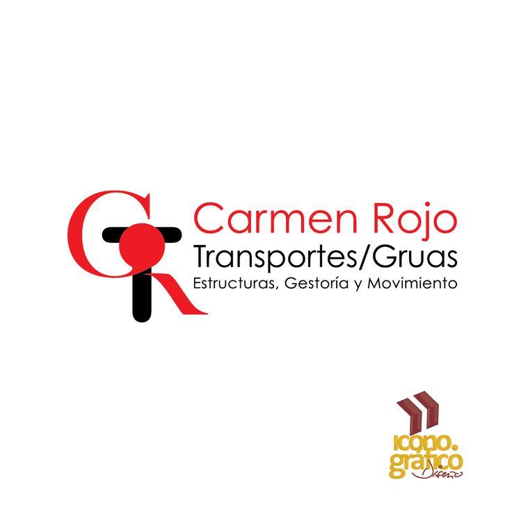 Logotipo Gruas Rojo (Guadalajara, Jal)