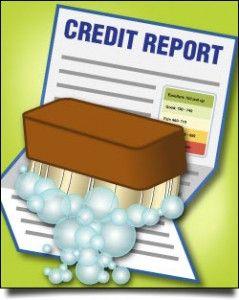 Clean Credit Report Maintenance