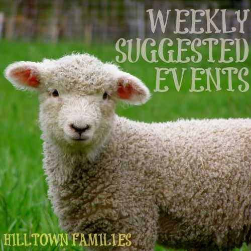What are your plans during April school vacation week? Our list of weekly suggested events for this weekend and during school break is up and PACKED with great ideas!