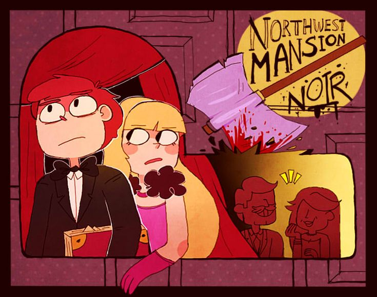Northwest mansion noir by Caramelkeks.deviantart.com on @DeviantArt