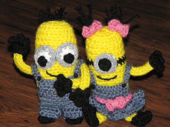 Amigurumi Minion Girl : 1000+ images about Crochet - Baby/Child on Pinterest ...