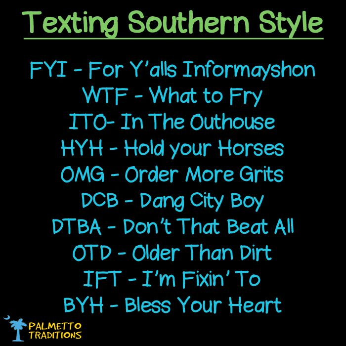 Funny Quotes About Texting: Southern Texting #southern #thesouth #southcarolina