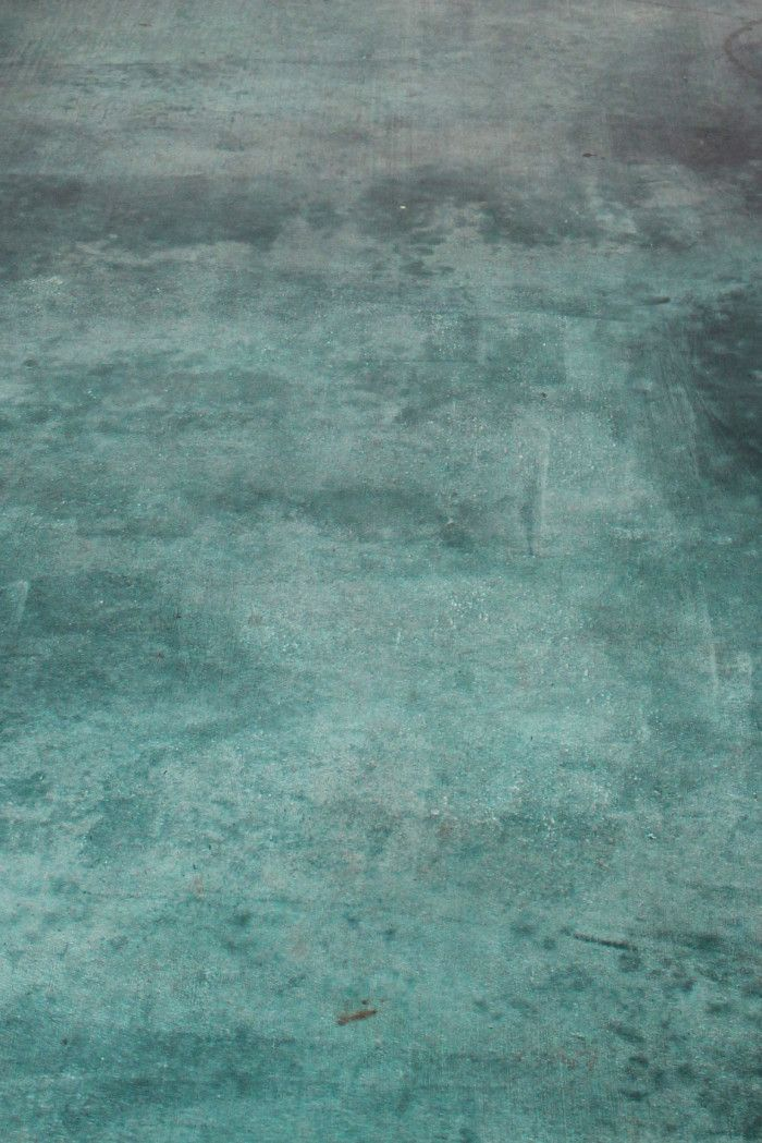 DIY Acid Stained Concrete Floor