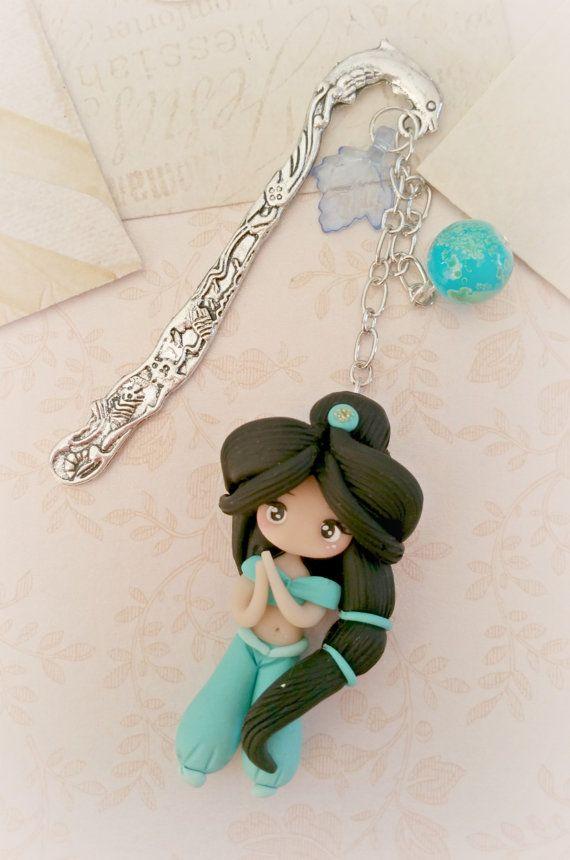 segnalibro  principessa jasmine di lapetitedeco su Etsy