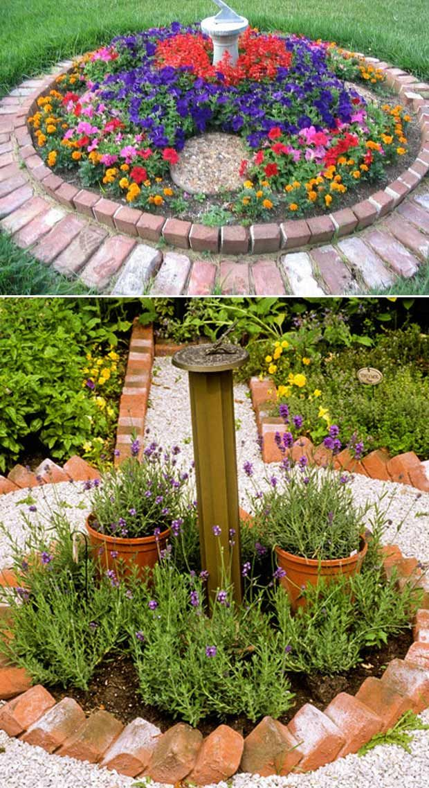Brick Landscaping Ideas To Increase The Beauty Of Homes Outdoor Landschaftsbau Ideen Landschaftsbau Ziegelsteine