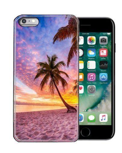 Iphone 6/7 case  6S 6/7 plus cell phone palm tree beach holiday resort 3D print #handmade