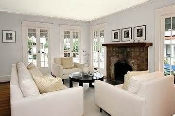 ... White, Iced Cube Silver, Gray Cloud & Bunny Grey by Benjamin Moore