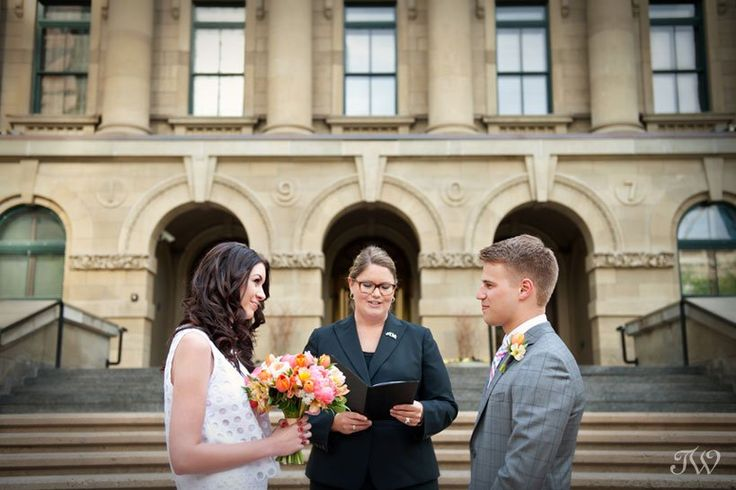 Calgary wedding photographer   Marriage Commissioner   Calgary   Jacqueline Hoare performs a marriage ceremony captured by Tara Whittaker Photography