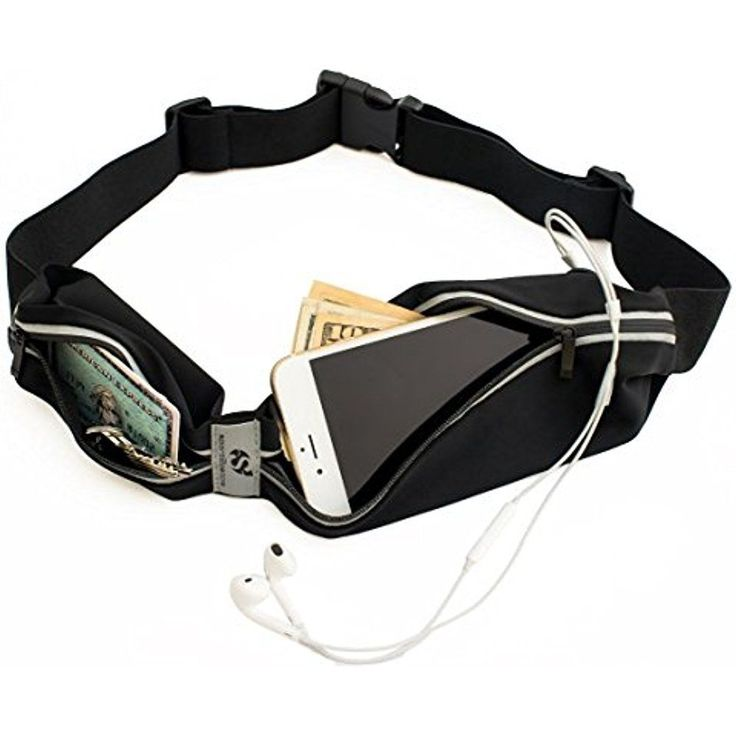 Running Pouch Belt Smartphone Holder Water Resistant Workout Fitness Accessories #Sport2People