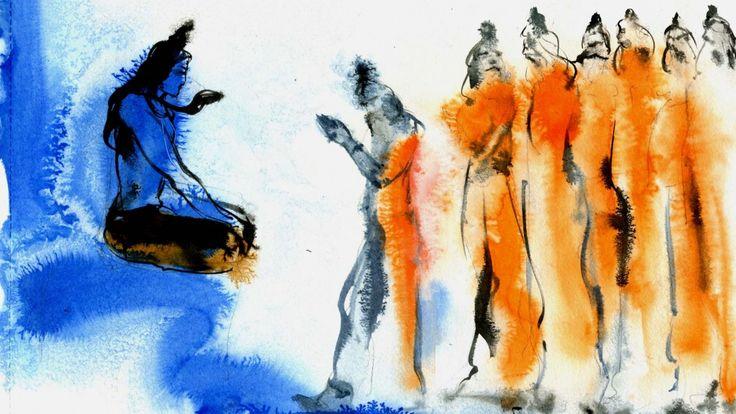 Guru Purnima - When the First Guru was Born #Shiva #Adiyogi #Sadhguru #Guru…
