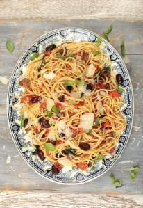 http://www.jamieoliver.com/recipes/pasta-recipes/tagliatelle-with-spinach-mascarpone-and-parmesan/