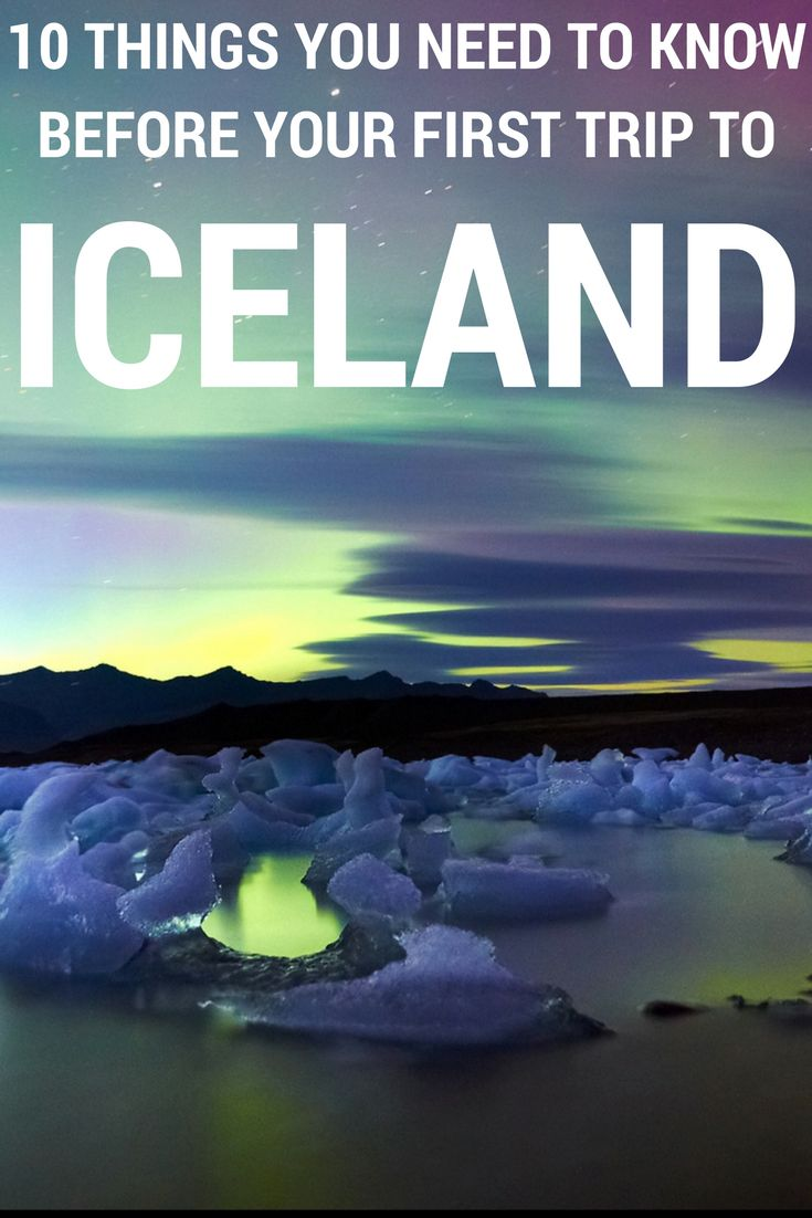 Your trip to Iceland will be awesome if you take into account these 10 things before you leave. #iceland #icelandtravel