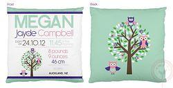 Megan Birth Chart Cushion