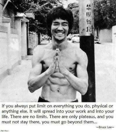 Bruce Lee on No Limits. Motivation, inspiration, Success