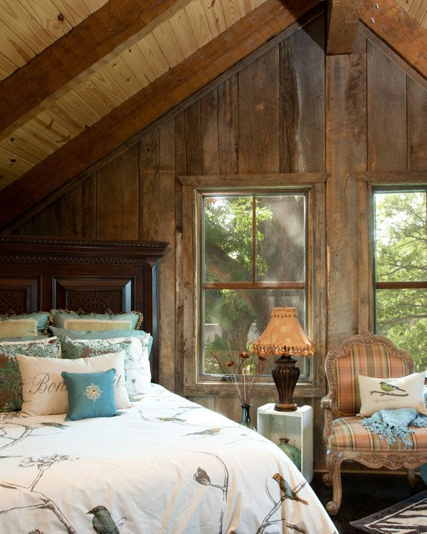 Log Cabin Bedroom: Pin By Cathy Navitsky -A Romantic Life On A Little Cabin