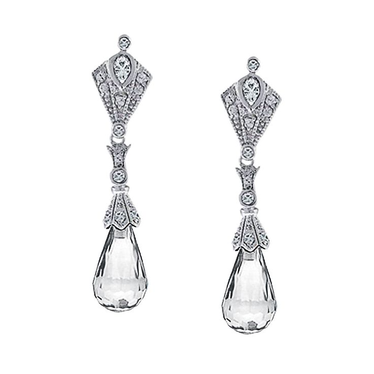 Checkout Reign Drop Earrings at BlingJewelry.com