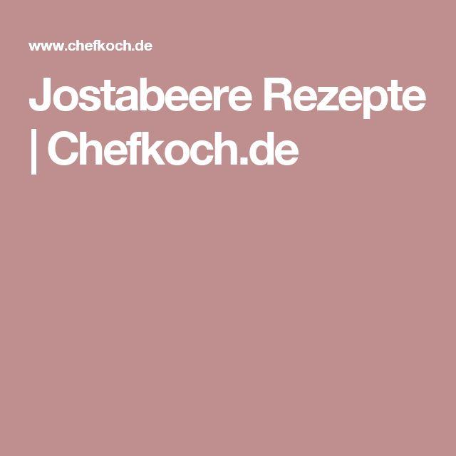 Jostabeere Rezepte | Chefkoch.de