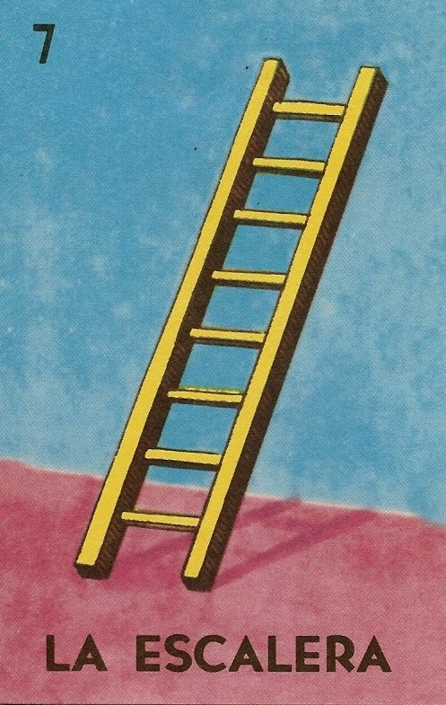 La escalera... loteria