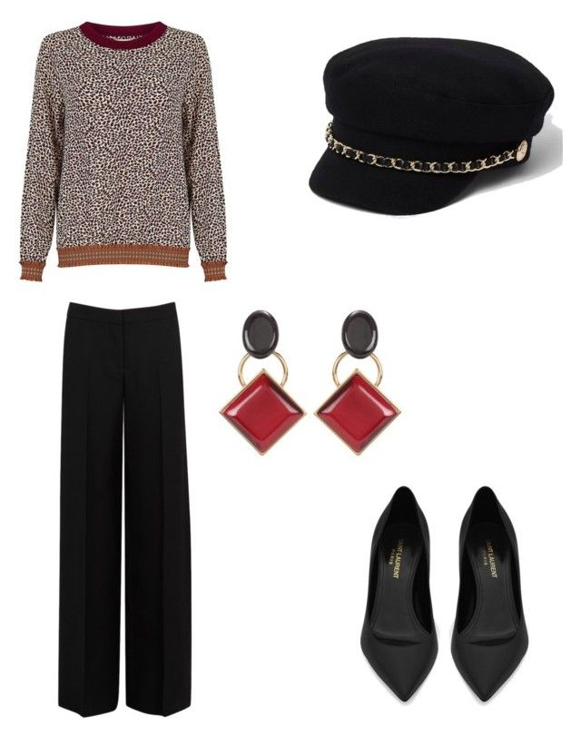 """""""Leopard"""" by stacyk01 on Polyvore featuring мода, River Island, Lollys Laundry, Alexander McQueen, Yves Saint Laurent и Marni"""