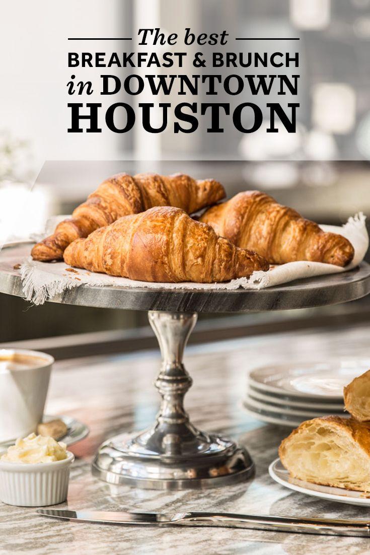 Our favorite breakfast spots in Downtown Houston.