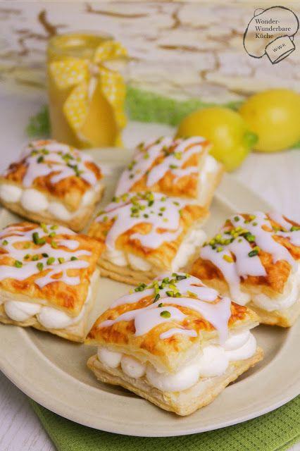 Wonder Wunderbare Küche: Zitronenwolken aus Blätterteig