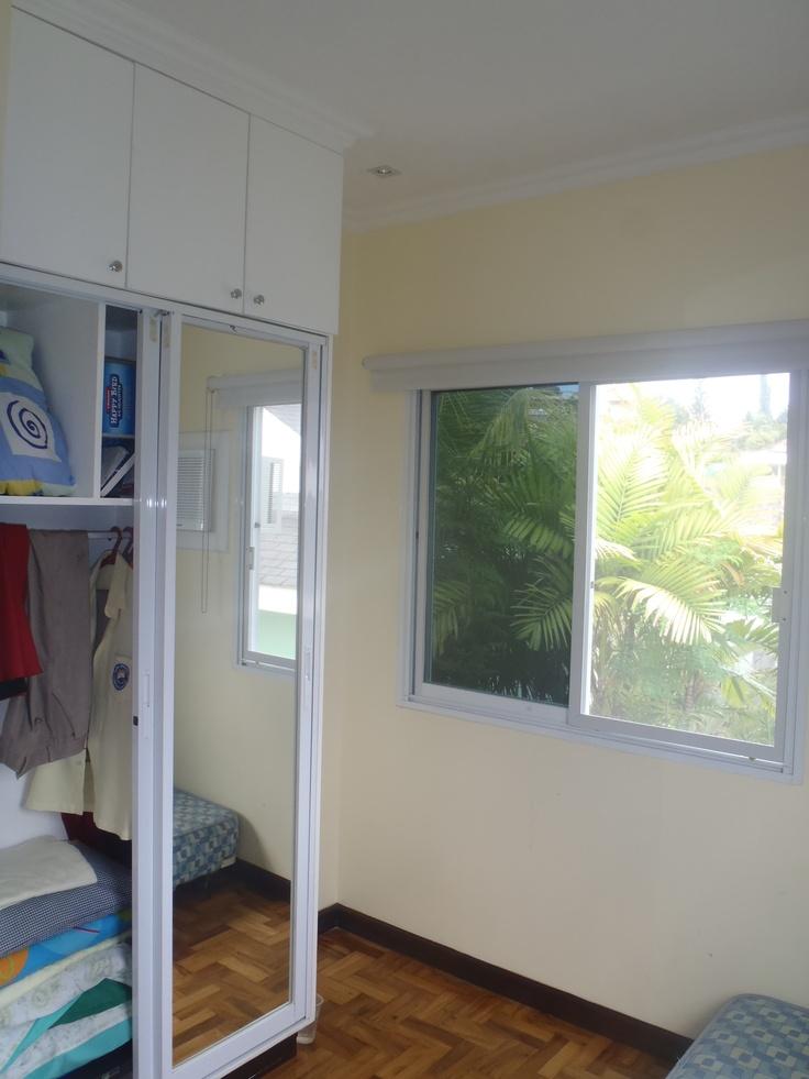 Bedroom 2 with built in wardrobe