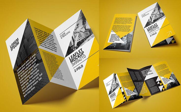 DL leaflet  – Z Fold Mockup