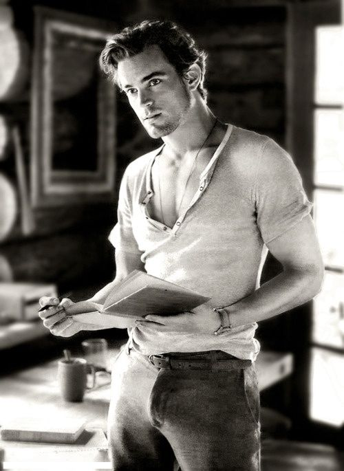 Matt Bomer... Well, that's one good excuse for mankind