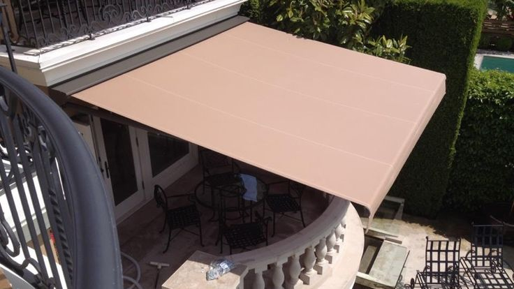 Each Retractable Awning Can Be Controlled Remotely. No Need To Hand Crank  These West Vancouver